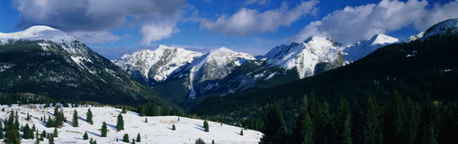Molas Pass Summit, CO Royalty Free Stock Photo