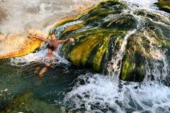 Molas térmicas naturais, Thermopylae fotos de stock royalty free