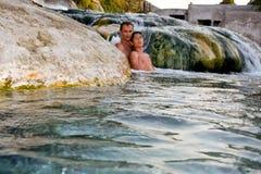 Molas térmicas naturais, Thermopylae imagem de stock royalty free