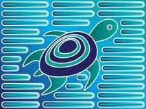 molasköldpadda royaltyfri illustrationer