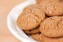 Molasses Cookies Royalty Free Stock Photo