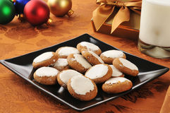 Molasses cookies Stock Photography