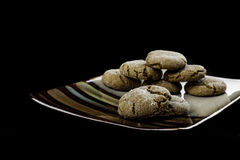 Molasses cookies Royalty Free Stock Photography