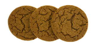Molasses Cookies Group Three Stock Photography