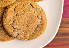 Molasses Cookies Stock Images
