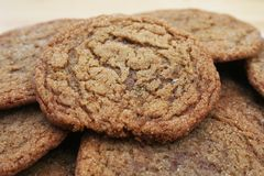 Molasses Sugar Cookies Royalty Free Stock Image