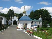 Molchansky-Kloster in Putivle Stockfotos