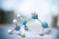 molécula Fotos de archivo