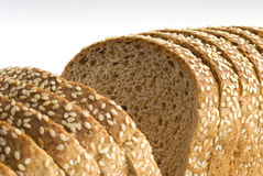 Mold bread. Rye mold bread with sesame seeds Royalty Free Stock Photography