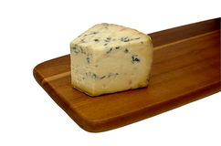 Mold cheese on the board Royalty Free Stock Photography