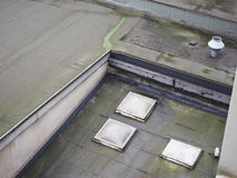 mold on flat roof Stock Photos