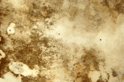 Mold texture. Water stains and mold growth on the ceiling of an abandoned house stock photos