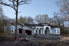 Moldação da casa Fotografia de Stock Royalty Free