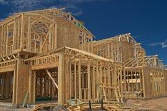 Moldação da casa. Imagens de Stock
