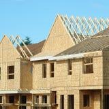 Moldação da casa da construção fotos de stock royalty free