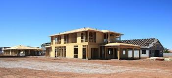 Moldação home nova da construção residencial Foto de Stock Royalty Free