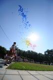 Moldau célèbre le jour national Images libres de droits