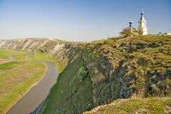 Moldau - complexe historique et archéologique de vieil Orhei avec c Photos stock