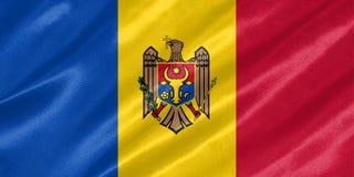 Moldau-Flagge vektor abbildung