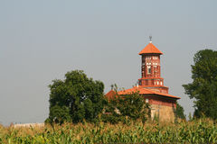 Moldaukirche Stockfotos