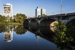 Moldava river Stock Images