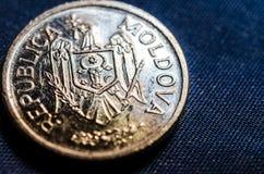 Moldavian coin, banut Royalty Free Stock Images