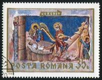 Moldavian frescoe Stock Images