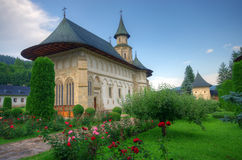 Moldavian monastery Stock Photography
