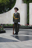 Moldavian Soldier On Victory Day Stock Images