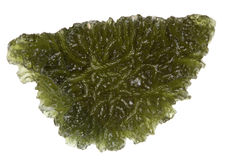 Moldavite Royalty Free Stock Photos