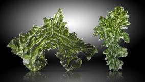 Moldavite Stock Photography