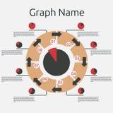 Molde abstrato do infographics Imagens de Stock