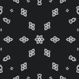 Molde abstrato do projeto da mandala ilustração do vetor