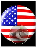 Molde americano do patriotismo Foto de Stock Royalty Free