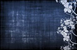 Molde azul do menu do vinho ou do alimento Imagens de Stock Royalty Free