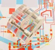 Molde biomédico. Imagen de archivo libre de regalías