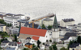 Molde Cathedral Royalty Free Stock Photo