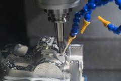 Molde center fazendo à máquina do corte do CNC imagem de stock