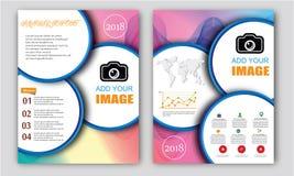 Molde circular do projeto Imagens de Stock