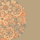 Molde com flor abstrata Imagens de Stock Royalty Free