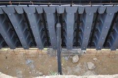 Molde concreto Fotografia de Stock Royalty Free
