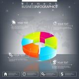 Molde 3D infographic moderno pode ser usado para ilustração do vetor