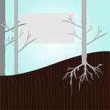Molde da árvore Imagens de Stock