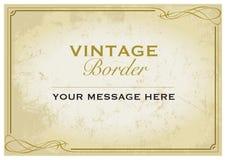 Molde da beira do vintage Imagens de Stock