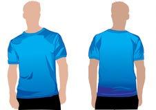 Molde da camisa ilustração royalty free