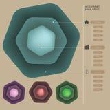 Molde da cor da Web Fotografia de Stock