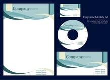 Molde da identidade corporativa. ilustração royalty free