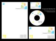 Molde da identidade corporativa. ilustração do vetor