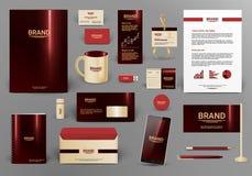 Molde da identidade corporativa Imagem de Stock