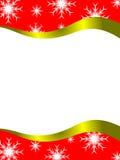 Molde da letra do Natal ilustração do vetor